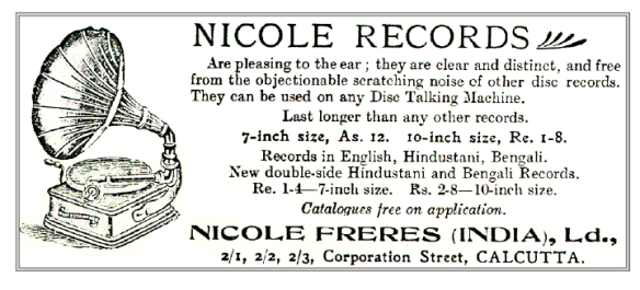 Nicole Records, Nicole Freres (India), Ltd.,