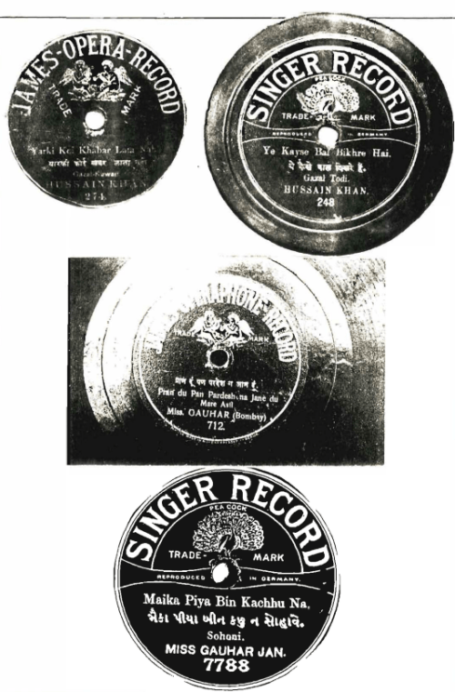 James Opera Record - Singer Record
