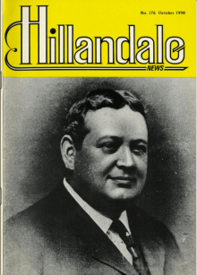 Hillandale News, No. 176, October 1990