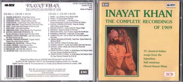 Inayat Khan, The Complete Recordings of 1909