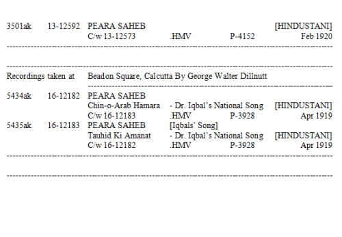 Peara Saheb Discography, Page 26