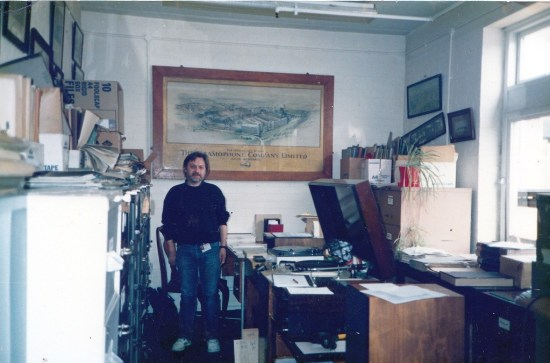 Michael Kinnear on a Special Recording Project, EMI Music Archive, Hayes