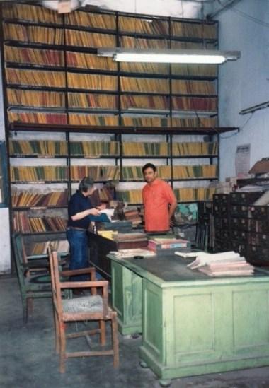 Michael Kinnear, Gramophone Co., Dum Dum, Archives