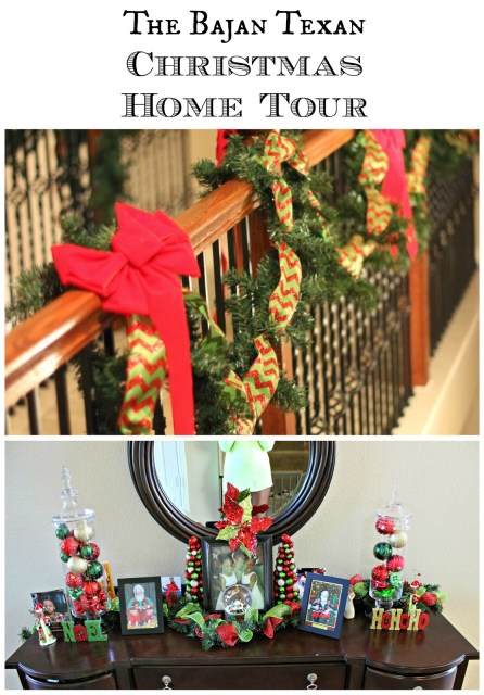 Christmas Home Tour 2013 - Our Christmas home tour decor for year 2013...the how-to tips are still applicable for the holidays this year!