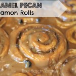 Caramel Pecan Cinnamon Roll Recipe