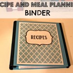 DIY Recipe Binder and Meal Planner (Pinterest Round Up)