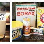 DIY Laundry Detergent (Spring Cleaning Series 1)