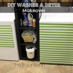DIY Washer Makeover + Dryer (Laundry Room Makeover Series 1)