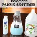 DIY Fabric Softener (Spring Cleaning Series 4)