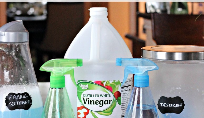 10 Uses for Vinegar Around The Home (Spring Cleaning Series 6)