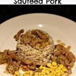 Sauteed Ginger Garlic Pork Recipe