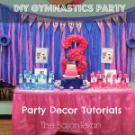 DIY Birthday Party at The Little Gym