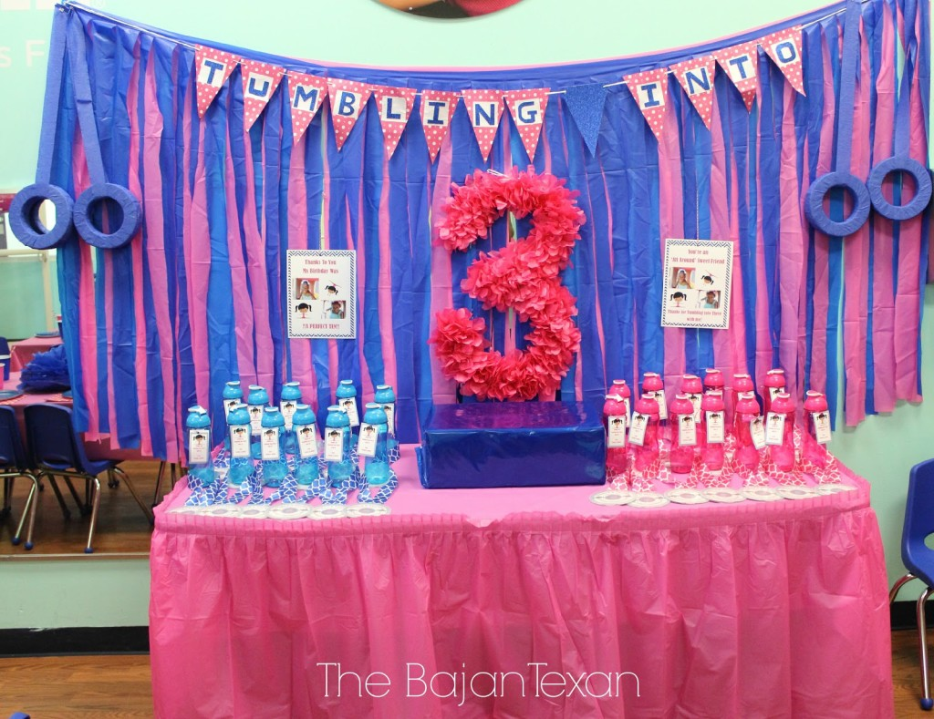 DIY Party Decor Tissue Paper Birthday Number Sign Tutorial The