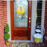 Spring Summer Porch DIY Decor