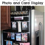 DIY Fridge Photo Display: How to Showcase Your Photos & Cards on Fridge