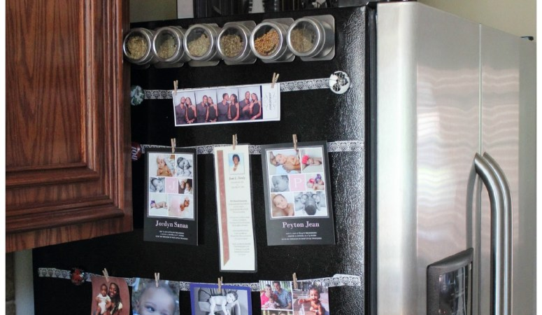 DIY Fridge Photo Display: How to Showcase Your Photos & Cards on Fridge