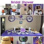 DIY Bridal Shower: Purple and Silver