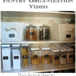Pantry Organization Video