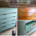 Transform Old Dresser Inside and Out