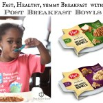 Fast Healthy Breakfast: Post Goodness-to-Go Breakfast Bowl & Amazon Giveaway