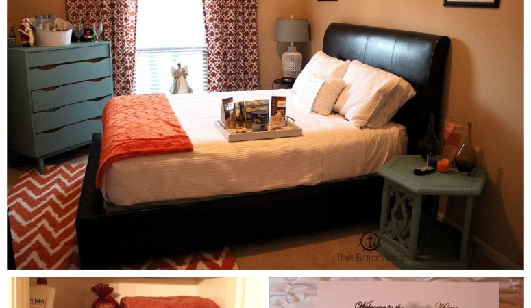 Prepare for Overnight Guests: Guest Bedroom and Bathroom Tour