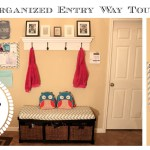 Organize Entry Way: Family Command Center