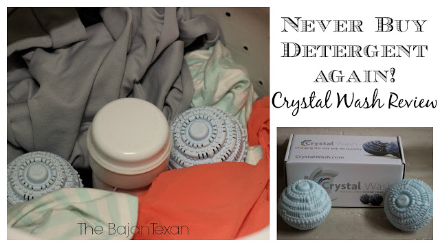 Never Buy Detergent Again: Crystal Wash Review & Discount #ad #sponsored