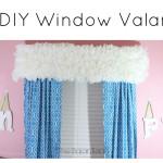 $5 DIY Coffee Filter Window Valance