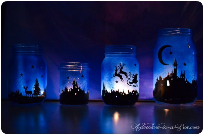DIY christmas lanterns