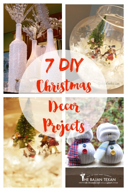 DIY Christmas Decorations - Check out these fun, super cute, and easy-to-make holiday decor!