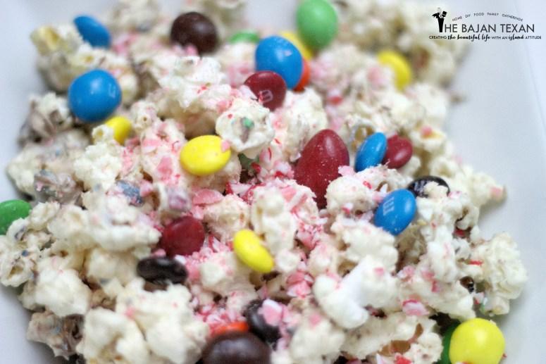 m&ms popcorn recipe