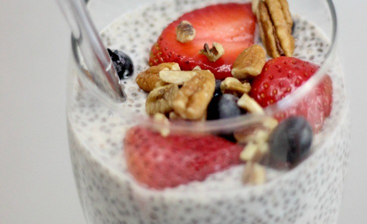 Vanilla Cinnamon Chia Seed Pudding: Easy Make Ahead Breakfast