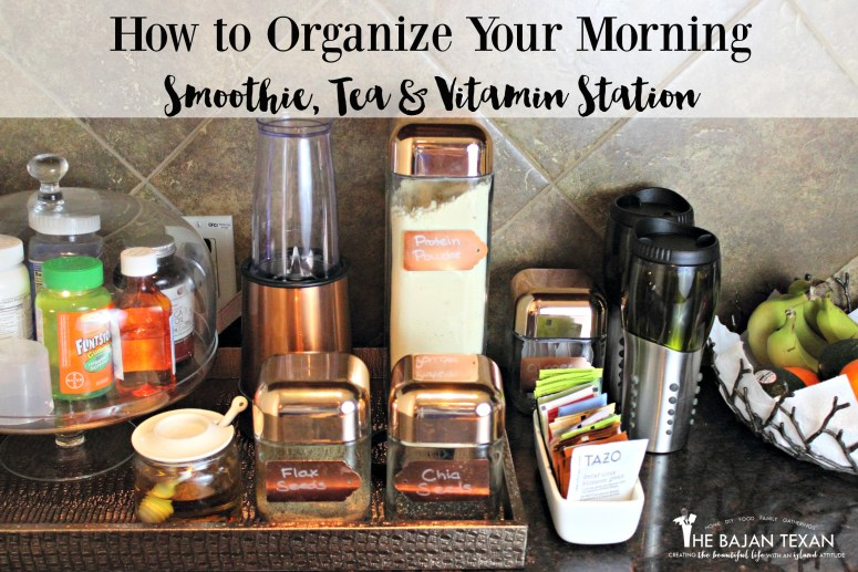 how to organize your morning