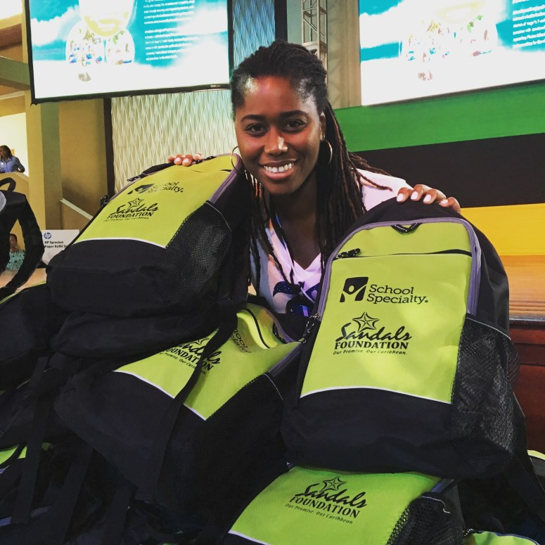 The Sandals Foundation Pack with a purpose