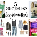 5 Best Subscription Boxes For Women (Gift Guide)