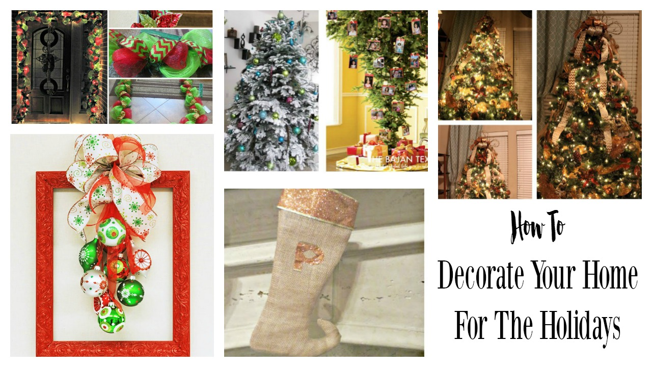 How To Decorate Your Home For The Holidays The Bajan Texan