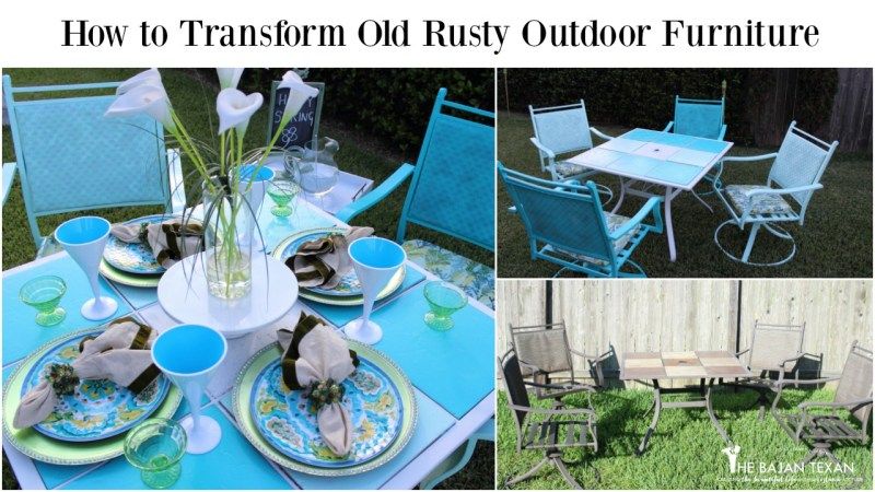 How to Paint Outdoor Furniture