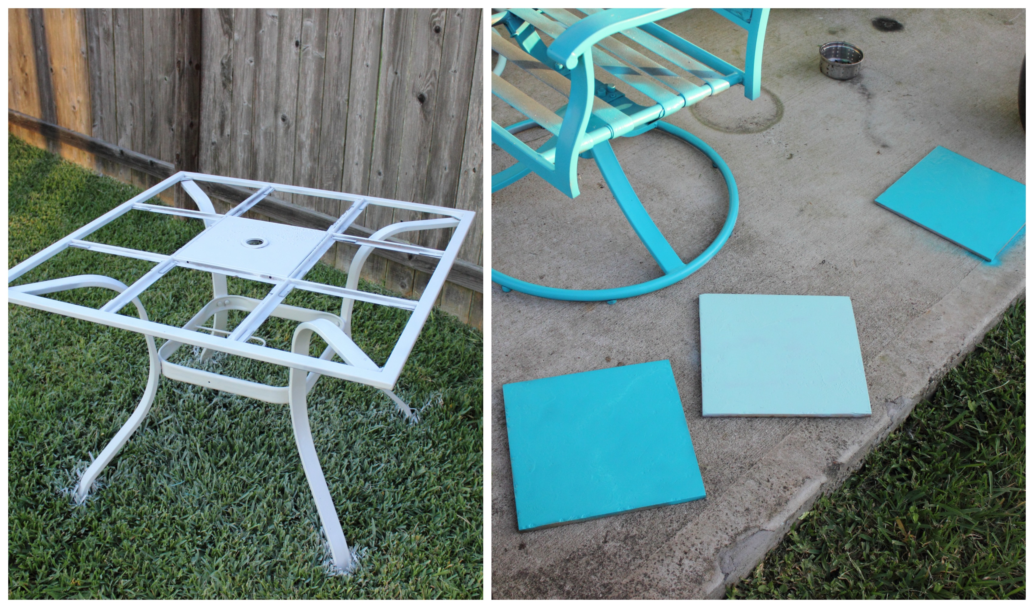 How to Paint Outdoor Furniture – The Bajan Texan