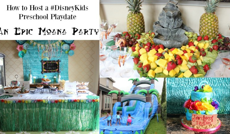 How to Plan the Perfect Moana Party #DisneyKids Preschool Playdate