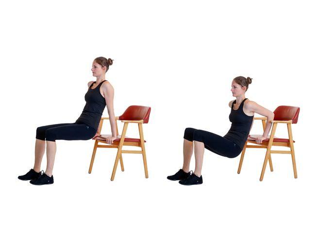 Dip de tríceps 1