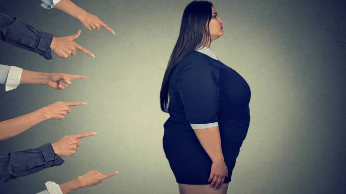 verguenza por ser gordo efectos nocivos