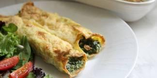 spinach cannelloni no pasta canelones de espinaca libre de gluten 1