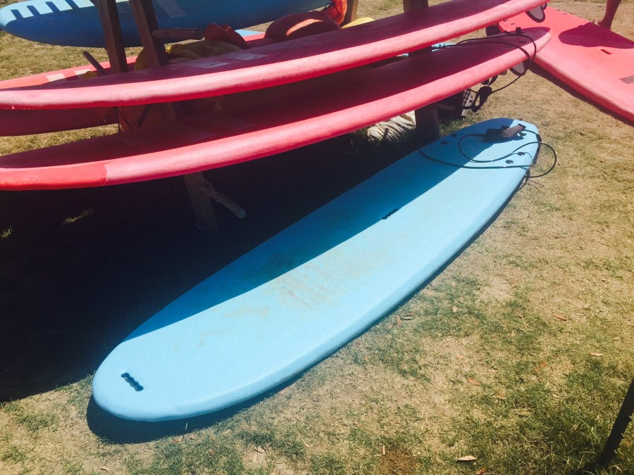 Soft Boards at NLand Surf Park
