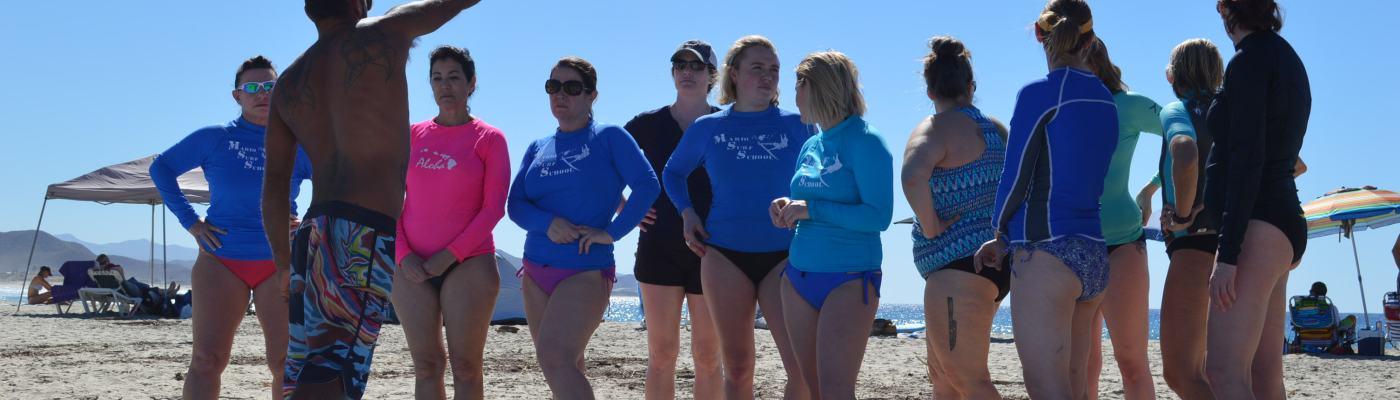surf instruction