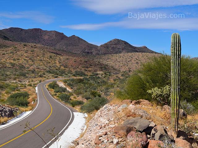 Carretera Transpeninsular, Península de Baja California.