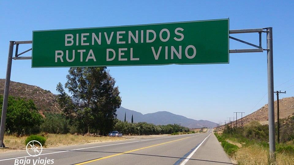 Bienvenida a la Ruta del Vino de Baja California, en Valle de Guadalupe