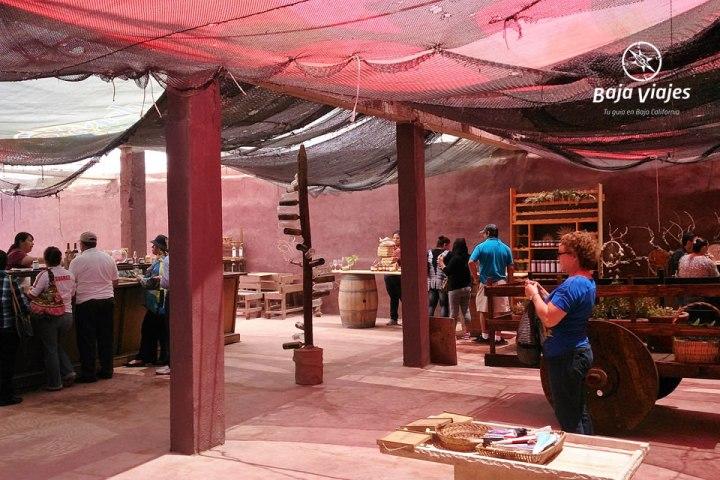 Vinícola Sol de Medianoche Sala de degustaciones
