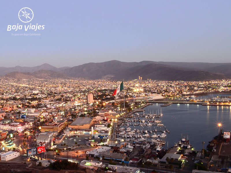 Panorámica de Ensenada, durante el Tour por la Ciudad.