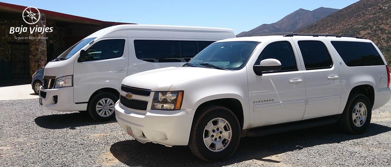 Transporte Turístico en Tijuana y Ensenada, Baja California.