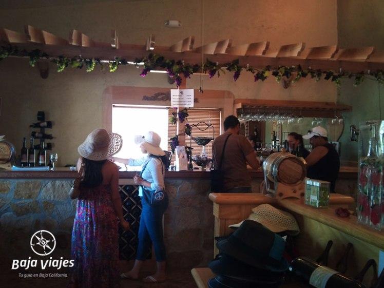 Vinicola Vinos Fuentes en Valle de Guadalupe